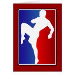 MMA Brizillian Ju Jitso Karate Fighter Cards