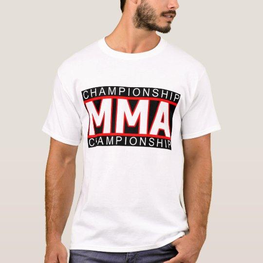 MMA CHAMPIONSHIP Shirt