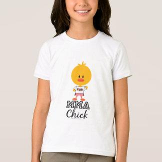 MMA Chick Kids Ringer Tee Shirt