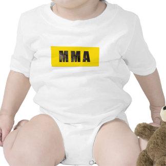 MMA Chiseled Text T Shirts