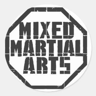 MMA CLASSIC ROUND STICKER