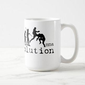 MMA Evolution Chart Flying Knee Mug