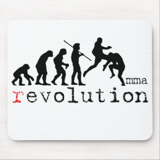 MMA Evolution - Flying Knee  Mouse Pad