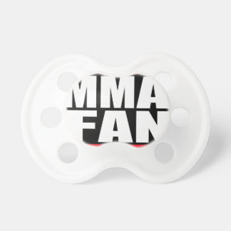 MMA FAN mixed martial arts MMA Baby Pacifiers