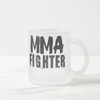 MMA Fighter2 Frosted Glass Coffee Mug