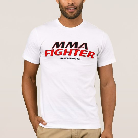 MMA Fighter Authentic Live Free Tee Shirt
