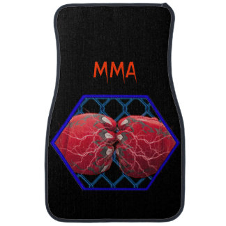 MMA Fighter Car Floor Mat