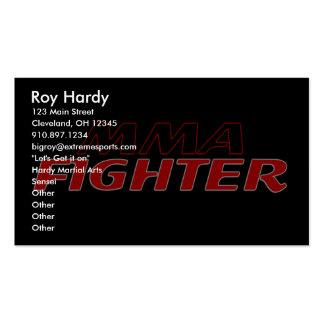 MMA FIGHTER DESIGN 1 BUSINESS CARD