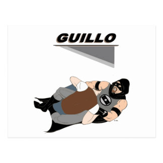 MMA Fighter/Superhero Guillo Postcard