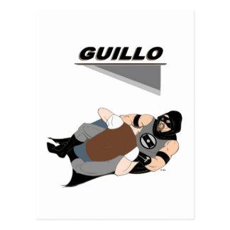 MMA Fighter/Superhero Guillo Postcard
