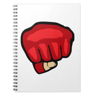 MMA FIST NOTE BOOKS