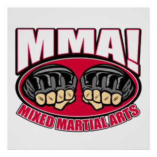 MMA Fists Posters