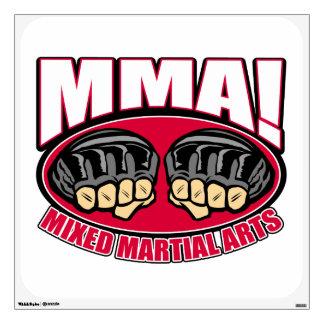 MMA Fists Wall Sticker