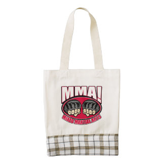 MMA Fists Zazzle HEART Tote Bag