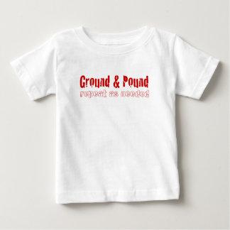 MMA Ground & Pound! Baby T-Shirt