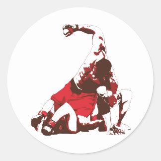 MMA Ground Pound Sticker