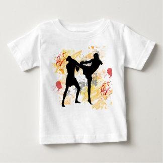 MMA Head Kick Baby T-Shirt