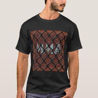 mma in cage and mma gloves on back T-Shirt