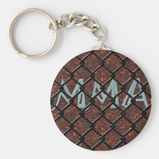 MMA in Caged Keychain
