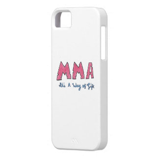 MMA It's a Way of Life Cell Phone Case