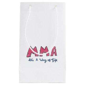 MMA It's a Way of Life Small Gift Bag