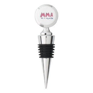 MMA It's a Way of Life Wine Stopper