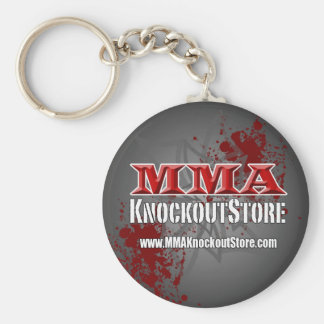 MMA Knockout Store Keychain