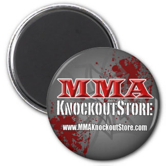MMA Knockout Store Magnet