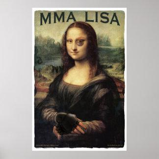 MMA Lisa Print
