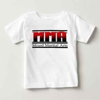 MMA Mixed Martial Arts Black & Red Baby T-Shirt