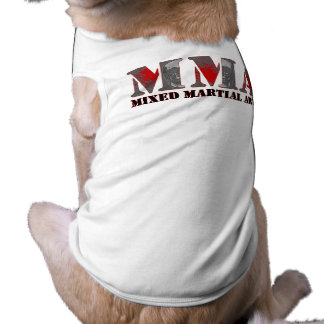 MMA Mixed Martial Arts Bloody Skulls Doggie T Shirt