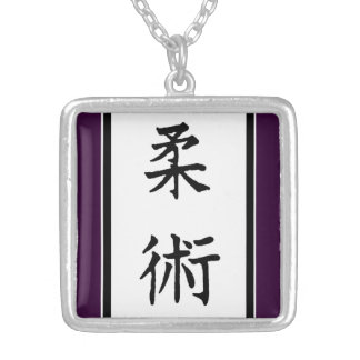 MMA MIXED MARTIAL ARTS SILVER PLATED NECKLACE