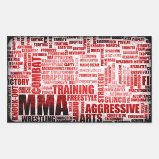 MMA Mixed Martial Arts Stickers