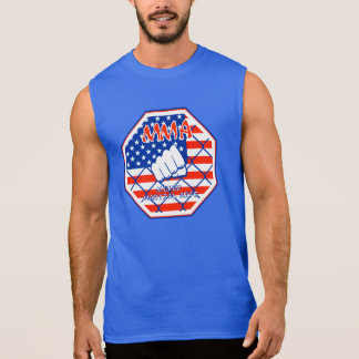 MMA Mixed Martial Arts USA Sleeveless Shirt
