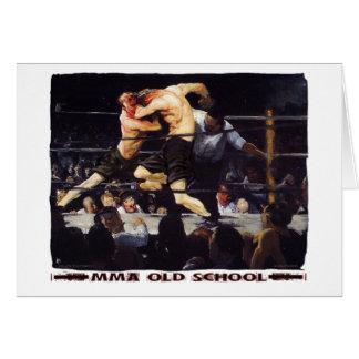 MMA Old School Card