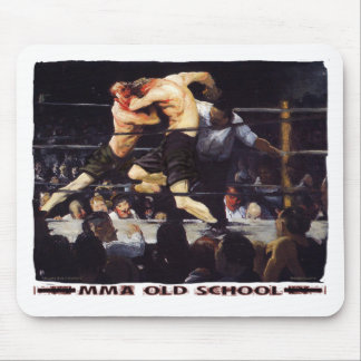 MMA Old School Mouse Pad