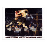 MMA Old School Postcards