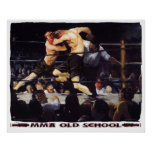 MMA Old School Poster