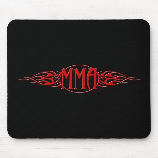 MMA_Red Mouse Pad