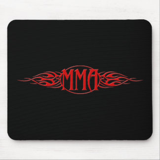MMA_Red Mouse Pads