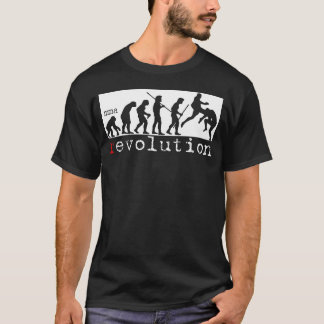 MMA Revolution - Evolution Chart Dark T-shirt