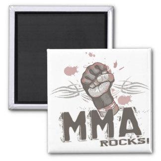 MMA Rocks Refrigerator Magnet