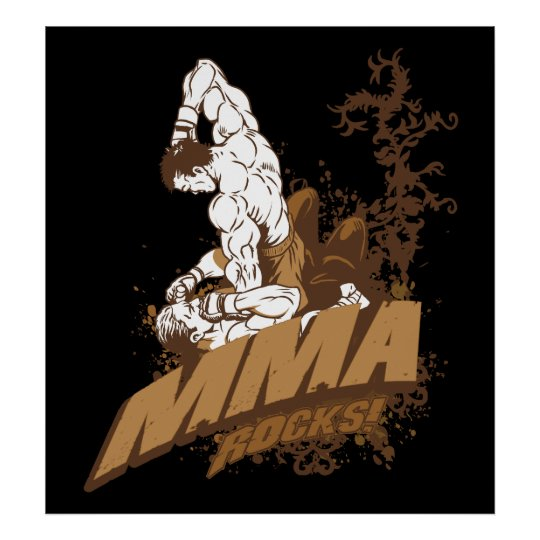 MMA Rocks Poster