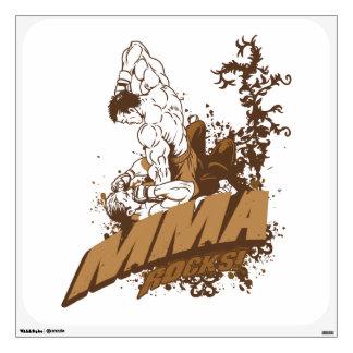 MMA Rocks Wall Sticker