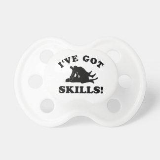 mma skill Vector Designs Pacifier