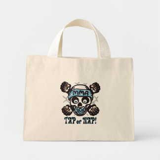 MMA Skull and Binky Mini Tote Bag