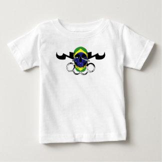 MMA_Skull_Brazil Baby T-Shirt