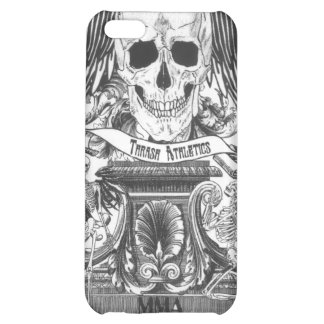 MMA Skull with wings Cover For iPhone 5C