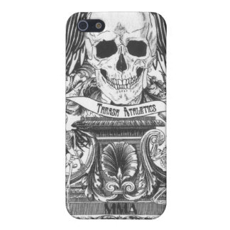 MMA Skull with wings iPhone 5/5S Covers