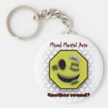 MMA Smile, Another round? Basic Round Button Keychain